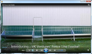 Fence Line Feeders for Goats and Sheep